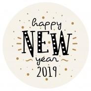 Bombón navideño New Year 2019