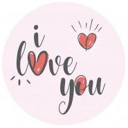 Corazones Love you
