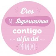 Huevo Superwoman