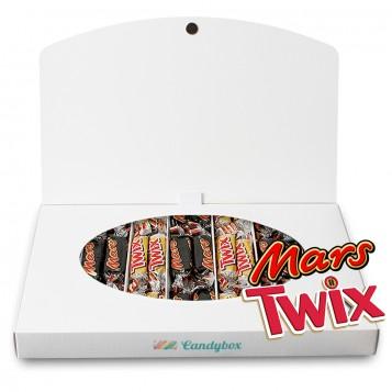Twix + Mars ponte feliz