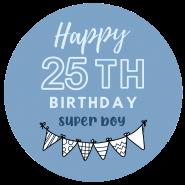 25h birthday boy