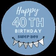 40h birthday boy