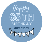 65h birthday boy