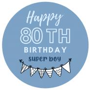 80h birthday boy