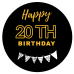 Happy 20th birthday black